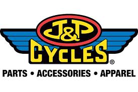 J & P Cycles logo